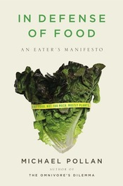 Book cover: Indefense of Food